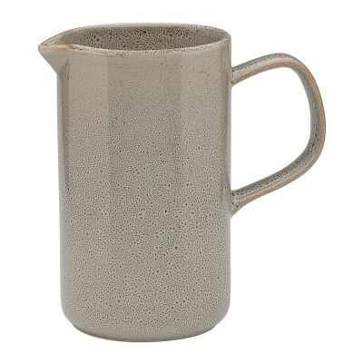 Ecology Mineral Stoneware Jug, Overcast