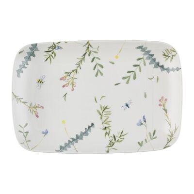 Ecology Greenhouse Ceramic Rectangle Platter