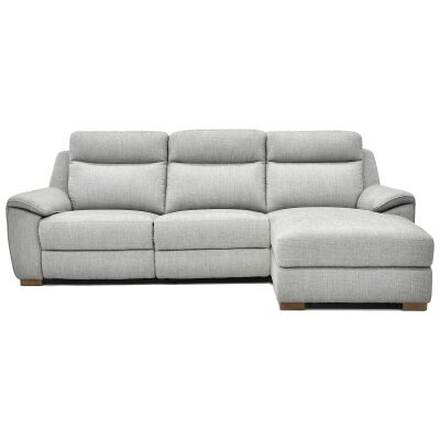 Bellmont Fabric Corner Recliner Sofa, 2.5 Seater with RHF Chaise, Mink