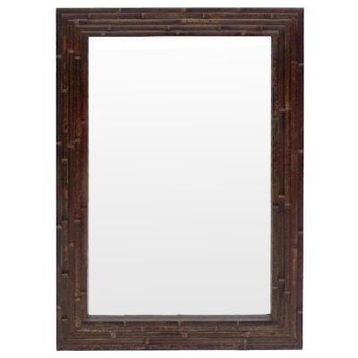 Boyd Bamboo Frame Wall Mirror, 90cm