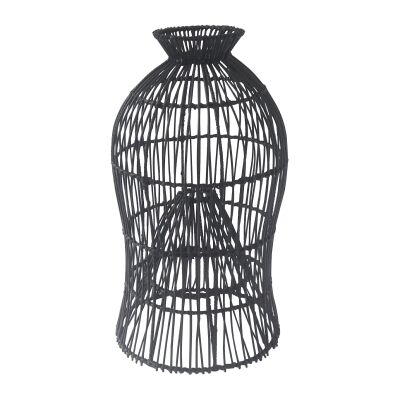 Fishing Basket Rattan Pendant Light Shade