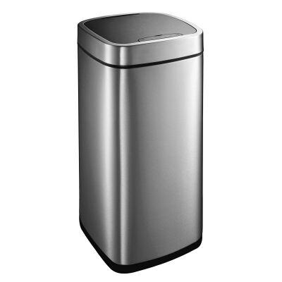 EKO Ecosmart Stainless Steel Sensor Bin, 35 Litre, Silver
