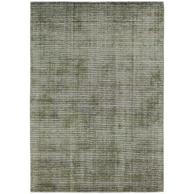 Elements Hand Knotted Wool Rug, 250x350cm, Green