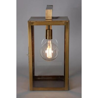 Brooke Metal & Glass Wall Lantern