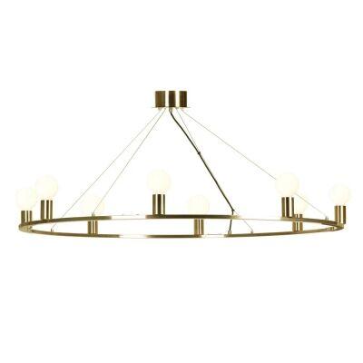 Yves Metal Pendant Light / Chandelier, Antique Brass