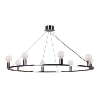 Yves Metal Pendant Light / Chandelier, Nickel