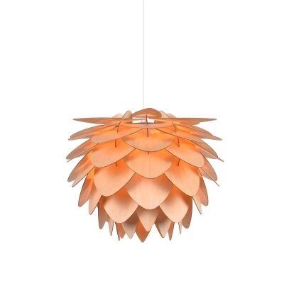 Zara Wooden Pendant Light, Natural