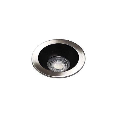 Elite LED Downlight, 5000K, Nickel / Black