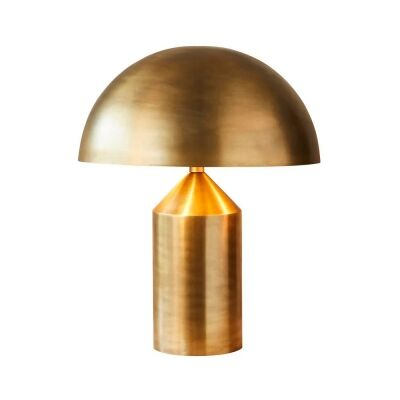 Jacaranda Brass Table Lamp