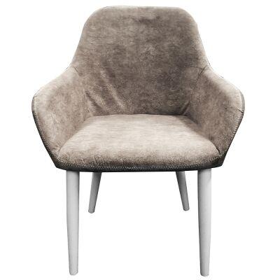 Ellie PU Leather Dining Armchair