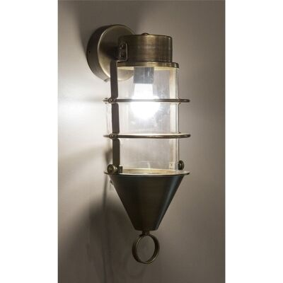 Eastwood Metal and Glass Bunker Wall Light
