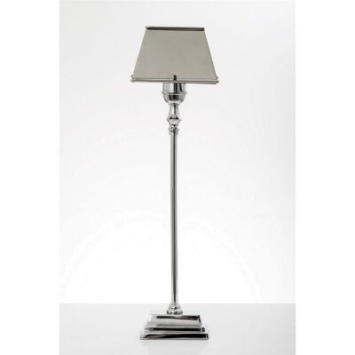 Collin Table Lamp in Shiny Nickle