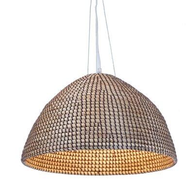 San Marco Rattan Pendant Light, Brown