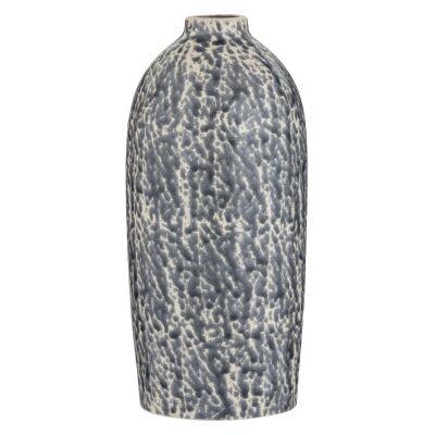 Beca Ceramic Vase, Blue