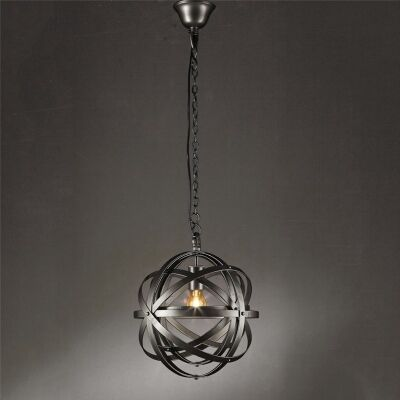 Michelangelo Metal Pendant Light, Small, Silver