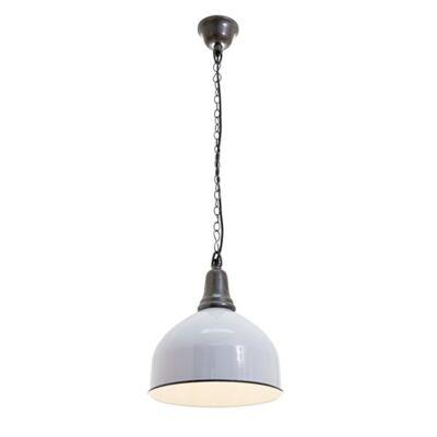 Bryon Enamel Pendant Light - White