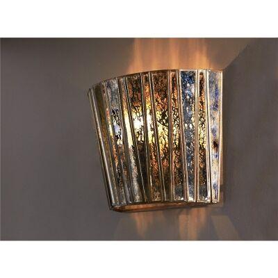 Roosevelt Half Round Glass Wall Light
