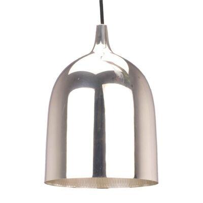 Lumi-R Metal Pendant Light - Silver