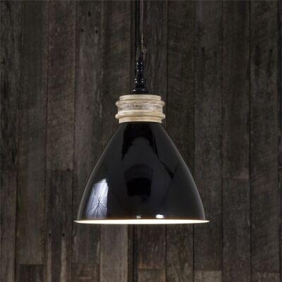 Sardinia Metal Pendant Light - Black