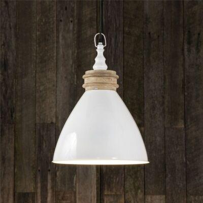 Sardinia Metal Pendant Light - White