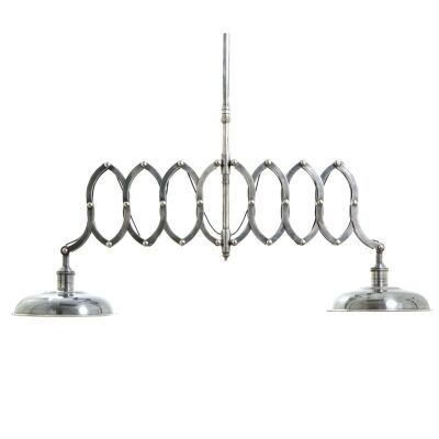Brentwood Double Scissors Metal Pendant Light