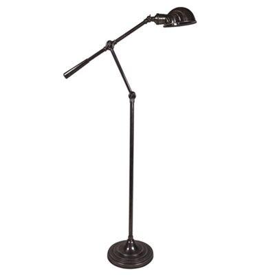 Calais Adjustable Metal Floor Lamp - Antique Bronze