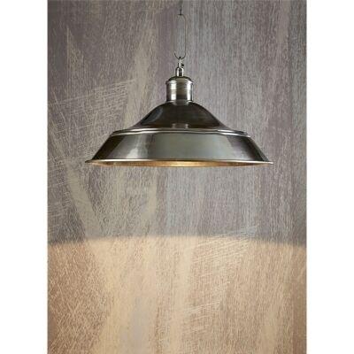 Palladium Metal Pendant Light