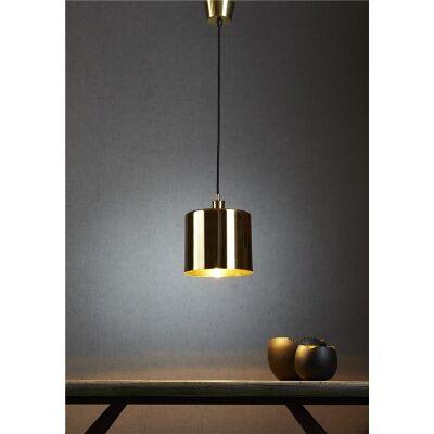 Portofino Metal Pendant Light, Brass