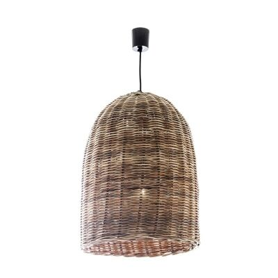 Haven Rattan Bell Pendant Light - Large