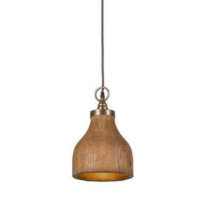 Big Sur Timber Pendant Light - Small