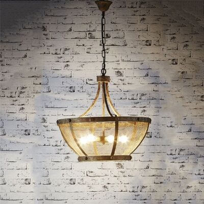 Saint Paul Metal Pendant Light