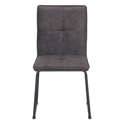 Proctor Ultrasuede Fabric Dining Chair, Grey