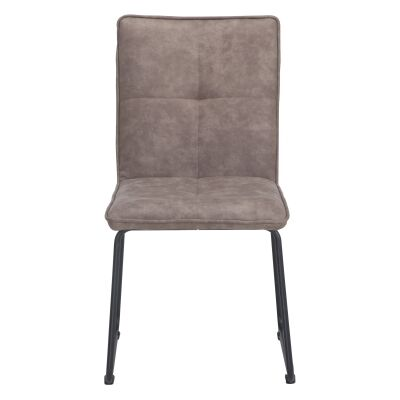 Proctor Ultrasuede Fabric Dining Chair, Taupe