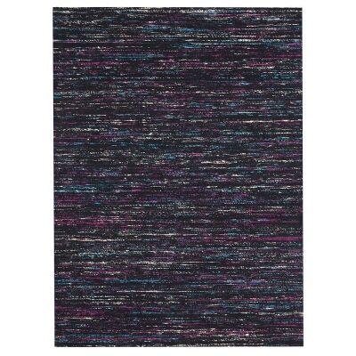Mayfair Stunning Flat Woven Rug, 190x280cm, Black