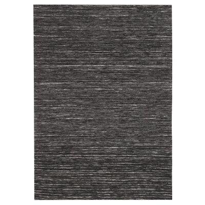 Mayfair Stunning Flat Woven Rug, 155x225cm, Charcoal