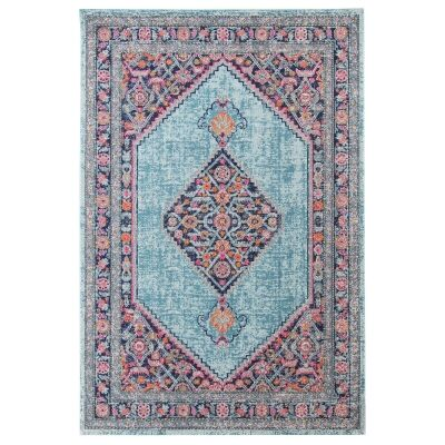 Eternal Whisper Diamond Turkish Made Oriental Rug, 240x330cm, Blue