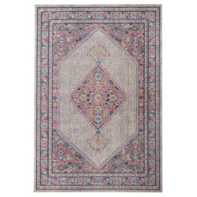 Eternal Whisper Diamond Turkish Made Oriental Rug, 160x230cm, Grey