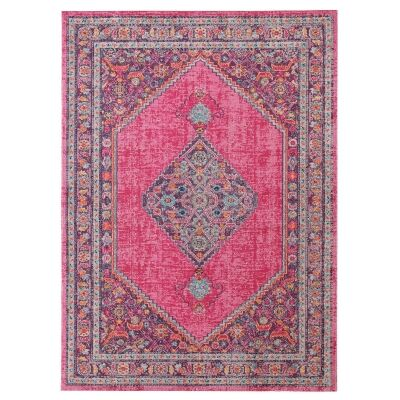 Eternal Whisper Diamond Turkish Made Oriental Rug, 160x230cm, Pink