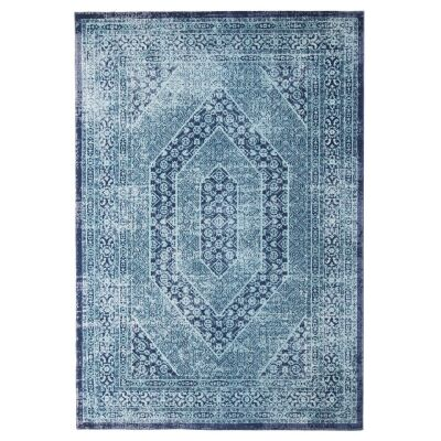 Eternal Whisper Vision Turkish Made Oriental Rug, 160x230cm, Blue