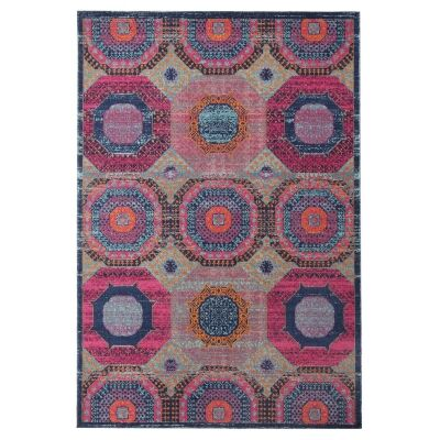 Eternal Whisper Wheels Turkish Made Oriental Rug, 160x230cm, Multi