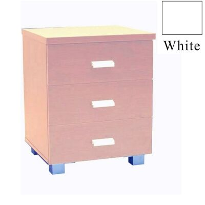 Concord Bedside Table - White