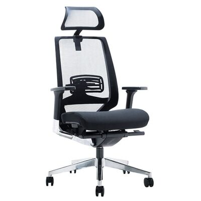 Evita Fabric Executive Office Chair with Headrest