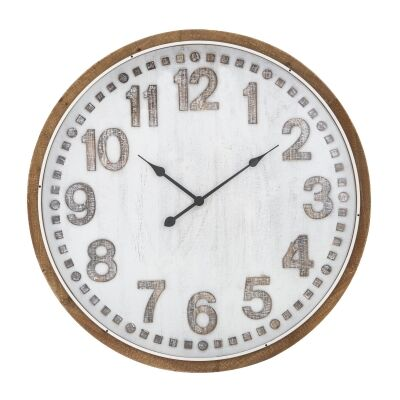 Camille Round Wall Clock, 80cm