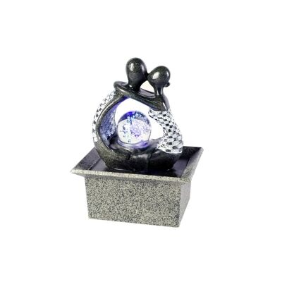 Couples Kissing Fountain - 22cm