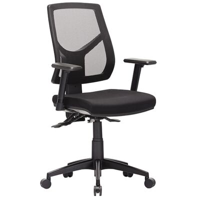Expo Fabric Task Office Chair with Arm, High Back