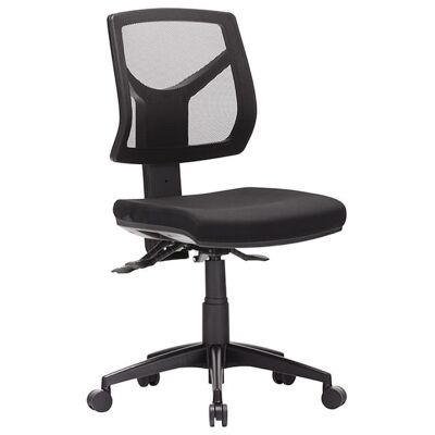 Expo Fabric Task Office Chair, Low Back