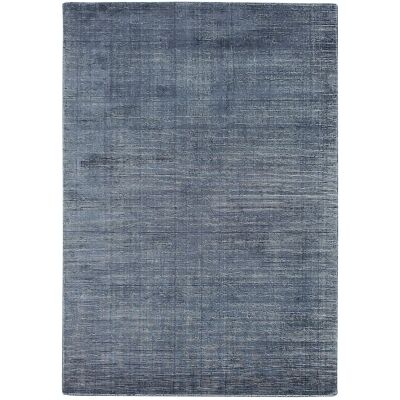 Elements Hand Knotted Wool Rug, 350x450cm, Blue