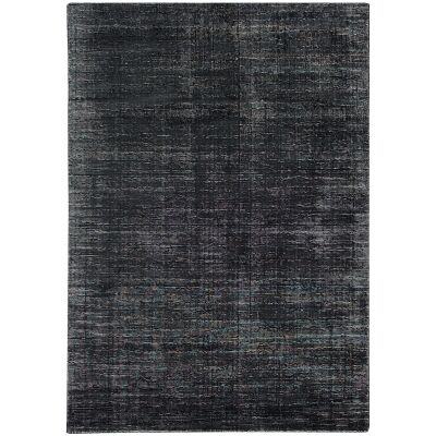 Elements Hand Knotted Wool Rug, 350x450cm, Charcoal