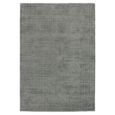 Elements Hand Knotted Wool Rug, 250x350cm, Grey