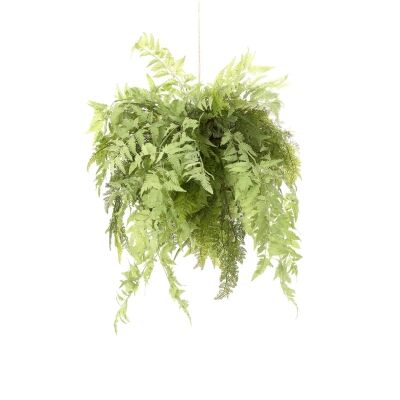 Hanging Artificial Fern, 75cm
